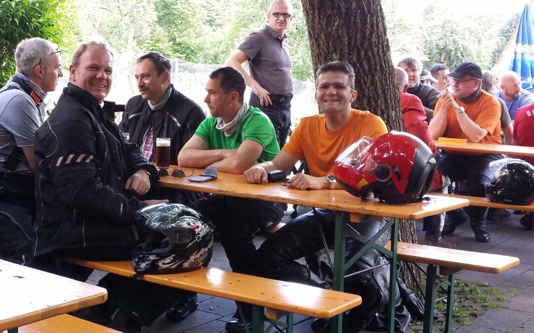 Motorradwochenende in Thüringen + Bayern