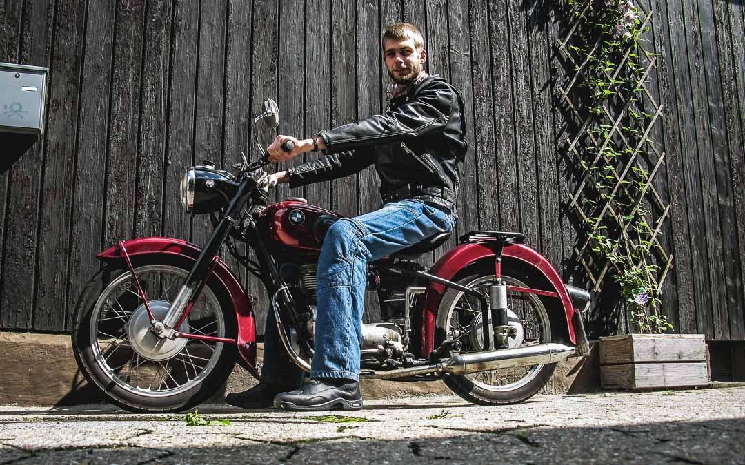 Fahrstunden und Prüfung mit eigenem Motorrad