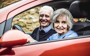 ältere Autofahrer